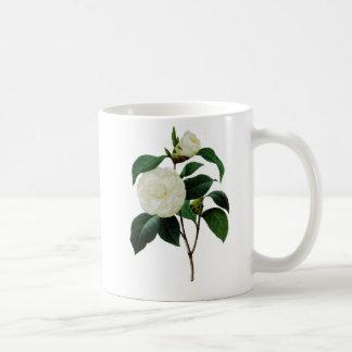 Snow White Camellia By Pierre Joseph Redoute Coffee Mug