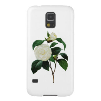Snow White Camellia By Pierre Joseph Redoute Galaxy S5 Covers