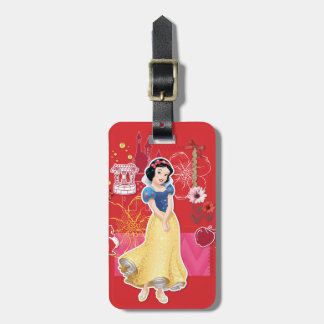 Snow White - Cheerful and Caring Luggage Tag