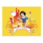 Snow White - Compassion 2 Postcard