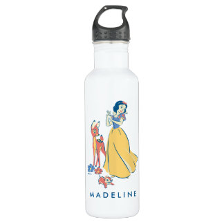 Snow White & Dopey with Friends 710 Ml Water Bottle