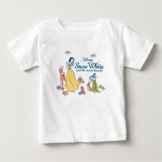 Snow White & Dopey with Friends Baby T-Shirt