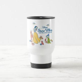 Snow White & Dopey with Friends Travel Mug