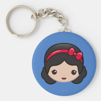 Snow White Emoji Keychain