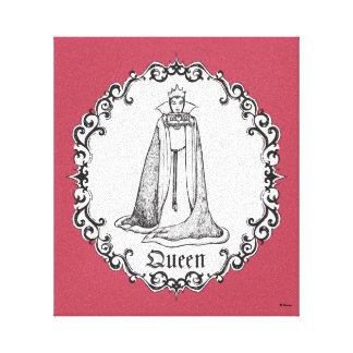 Snow White | Evil Queen - Vintage Villain Canvas Print