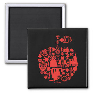 Snow White & Friends Apple Magnet