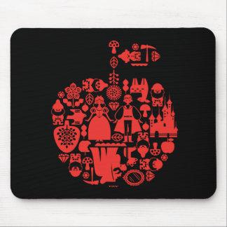 Snow White & Friends Apple Mouse Pad