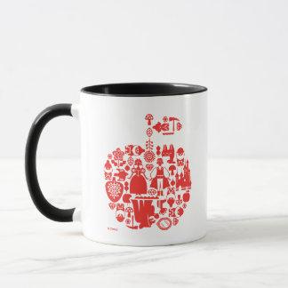 Snow White & Friends Apple Mug