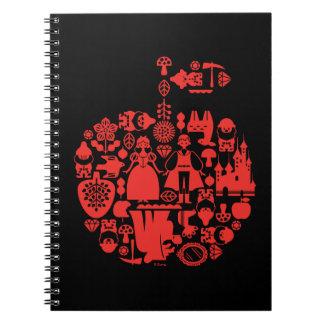 Snow White & Friends Apple Notebook