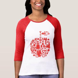 Snow White & Friends Apple T-Shirt