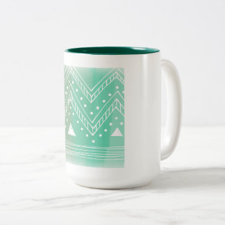 Snow white green winter coffee Mugs