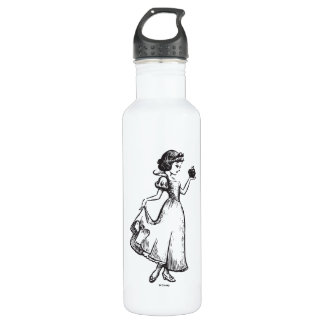 Snow White | Holding Apple - Elegant Sketch 710 Ml Water Bottle