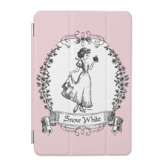 Snow White   Holding Apple - Elegant Sketch iPad Mini Cover