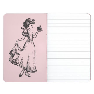 Snow White | Holding Apple - Elegant Sketch Journal