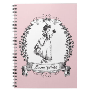 Snow White | Holding Apple - Elegant Sketch Notebooks