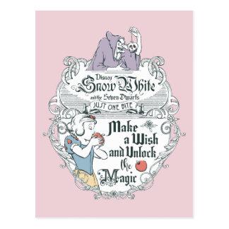 Snow White | Just One Bite Postcard