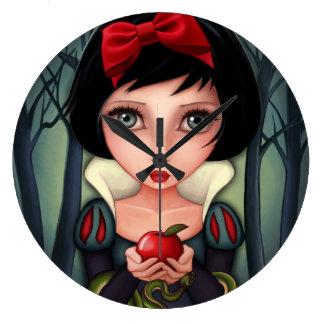 Snow White Large Clock