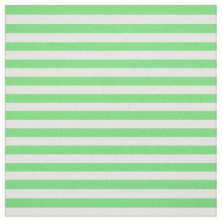 Snow white, Light green, Soft pastel green Fabric