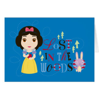 Snow White | Lost in the Woods Card