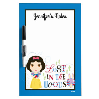 Snow White | Lost in the Woods Dry Erase White Board