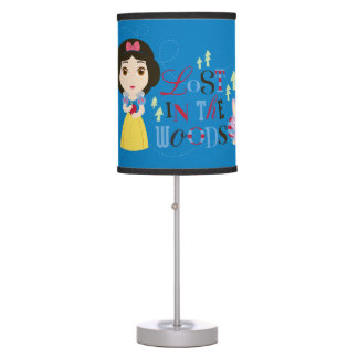 Snow White | Lost in the Woods Table Lamp