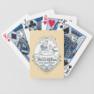 Snow White | Lovely Little Songbird Bicycle Playing Cards