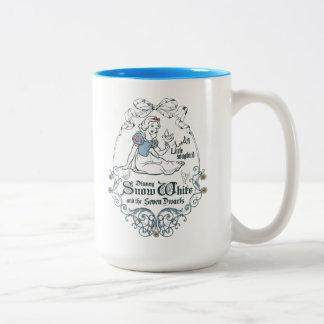 Snow White | Lovely Little Songbird Two-Tone Coffee Mug