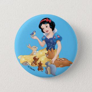 Snow White   Make Time For Buddies 2 Inch Round Button