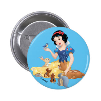 Snow White | Make Time For Buddies 2 Inch Round Button