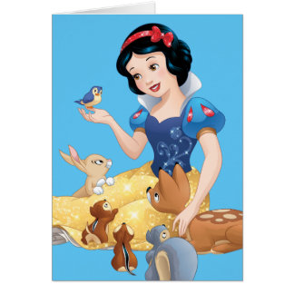 Snow White | Make Time For Buddies Card