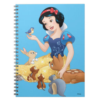 Snow White | Make Time For Buddies Spiral Notebook