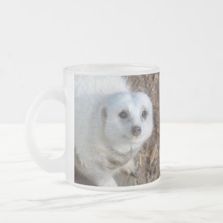 Snow_White_Meerkat,_Frosted_Beer_Mug Frosted Glass Coffee Mug