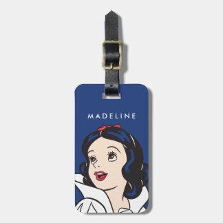 Snow White   One Bite Luggage Tag