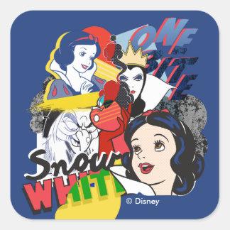 Snow White | One Bite Square Sticker