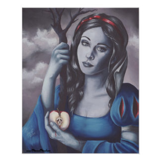 Snow White Poster Fairy Tale Poster