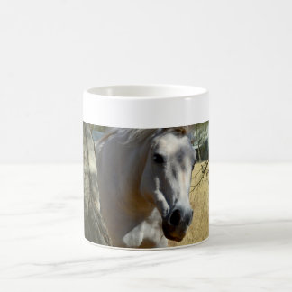Snow White The Horse,_ Coffee Mug
