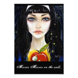 Snow White & the poison apple Card