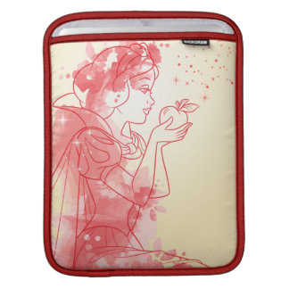 Snow White | Watercolor Outline iPad Sleeve