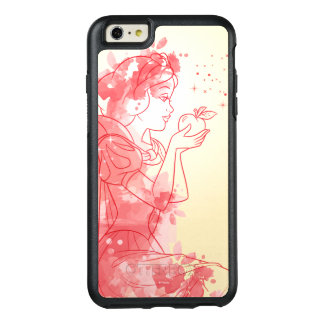 Snow White | Watercolor Outline OtterBox iPhone 6/6s Plus Case