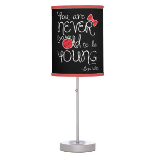 Snow White | You Are Never To Old To Be Young Table Lamp