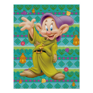 Snow White's Dopey Poster