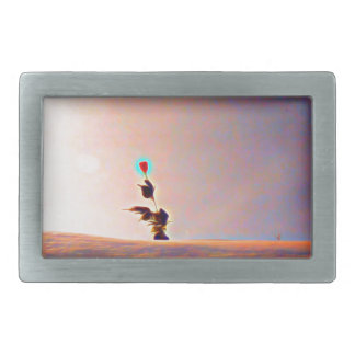 Snow will never kill my Rose Collection Rectangular Belt Buckles