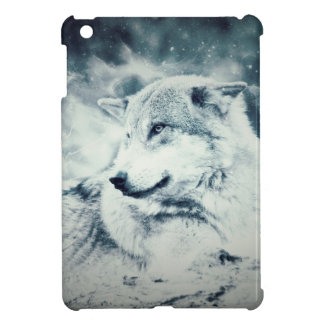 Snow Wolf... Cover For The iPad Mini