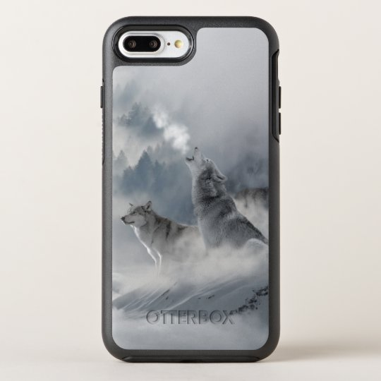 Snow Wolf OtterBox Symmetry iPhone 7 Plus Case