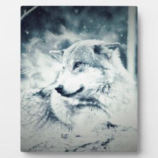 Snow Wolf... Plaque
