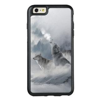 Snow Wolf Print OtterBox iPhone 6/6s Plus Case