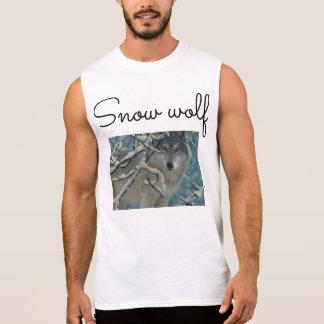 snow wolf youtube merch sleeveless shirt