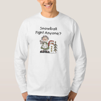 Snowball Fight Tshirts and Gifts