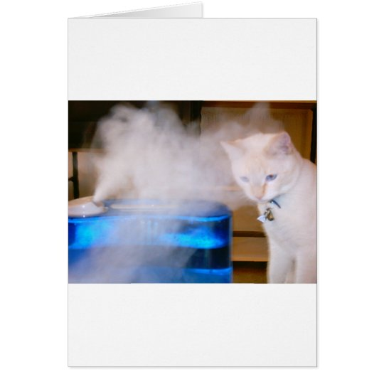 """""""Snowball in the Mist"""" Card"""