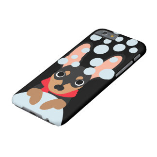 Snowball Miniature Pinscher Dog Barely There iPhone 6 Case